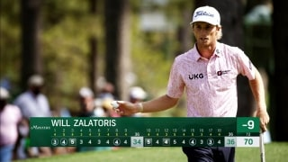Zalatoris excited and frustrated by Masters finish