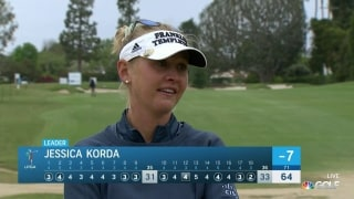 Korda finally gets her putter going at LA Open