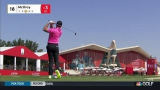 Highlights: McIlroy opens with 64 to take lead at Abu Dhabi