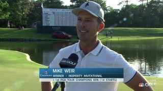 Mike Weir wins PGA Tour Champions Insperity Invitational