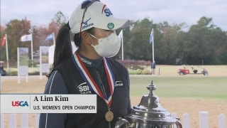 Kim's historic final round sets up 'unbelievable' USWO win