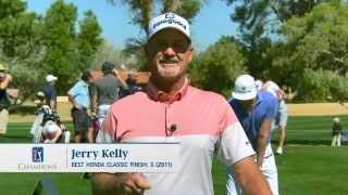 Kelly's tips for how to play a windy Par 3