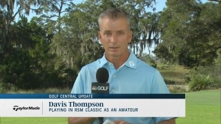 Georgia's Thompson 'more confident' entering second RSM Classic