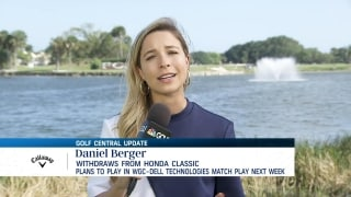 Daniel Berger withdraws from The Honda Classic due to injury