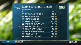 Daniel Van Tonder leads after Kenya Classic second round