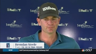 Brendan Steele finishes tied for 4th at Sony Open in Hawaii