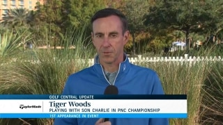 JT ready for Charlie Woods' trash talk