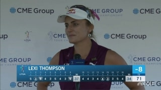 Thompson focused on 'one shot at a time' at CME