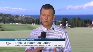 Kapalua conditions are the best players have seen