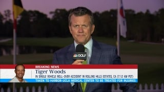 Players concerned for Tiger's health, family
