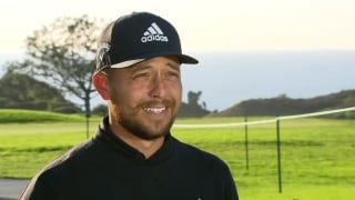 Schauffele describes his expectations for Farmers Insurance