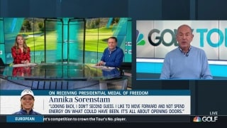 Annika Sorenstam focused on making difference