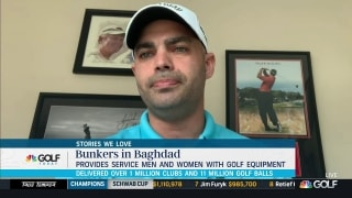 Bunkers in Baghdad brings golf to deployed troops