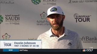 Johnson giving himself chance to win at Saudi International