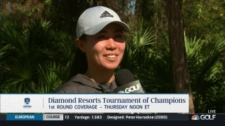 Danielle Kang 'teared up' at news of Whan stepping down