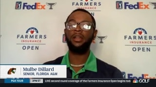 Dillard opens up about diversity in golf