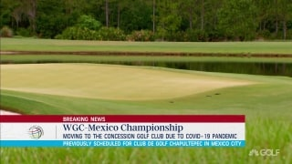 WGC-Mexico moving to Florida due to pandemic