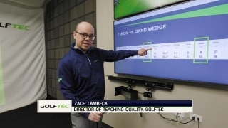 Club selection is key to chip shots