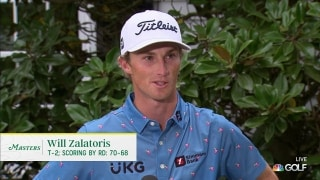 Will Zalatoris turning heads after Masters second round