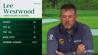 Westwood still gets 'chills' in 20th trip to Augusta