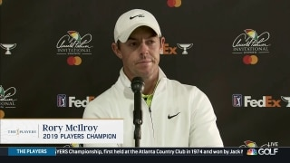 Casey, McIlroy reflect on COVID-19's impact one year later