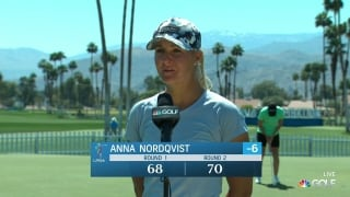 Nordqvist finds pace close to turn at Round 2