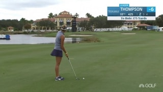 Lexi Thompson finishes CME Round 1 with birdie