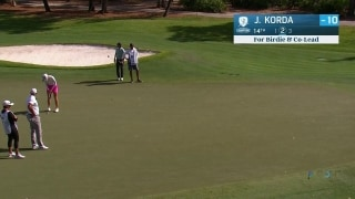 Korda birdies on 14, co-leads Diamond Resorts TOC