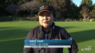 Inbee Park 'couldn't believe' victory at Kia Classic