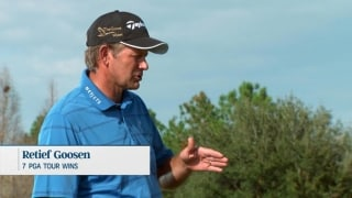 Retief Goosen shares keys to improve putting technique