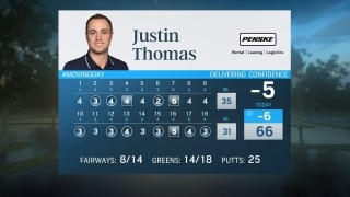 Thomas' game trending upward at WGC-Workday