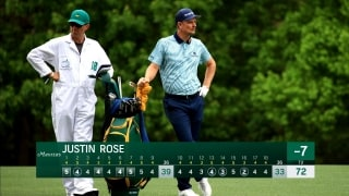 How Rose righted the ship on the back nine