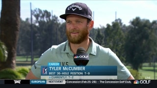 Tyler McCumber goes low at Riviera despite fluke injury