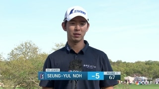 Noh sharp during first-round 67 at Valero Open