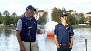 Kuchar: Teeing off with son Cameron at PNC is 'incredible'