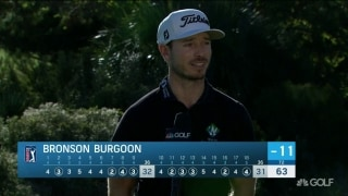 Burgoon fires 63 at RSM, but 'I hit it better yesterday'