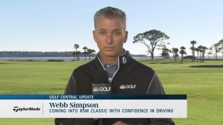Simpson enters RSM Classic playing at career-best