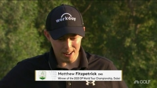 Fitzpatrick reflects on second career win in Dubai