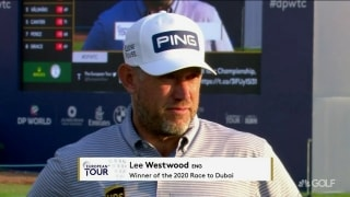 Westwood, 47, is Europe's No. 1 for third time