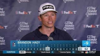 Hagy 'playing with house money' at Honda Classic