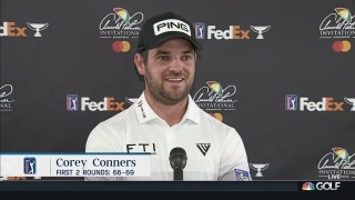 Conners describes Round 2 play as 'solid day'