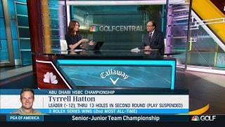 Tyrrell Hatton's confidence, maturity showing in Abu Dhabi