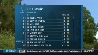 Highlights: Park leads Kia Classic after Round 2