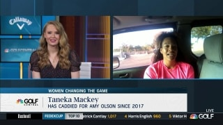 How Taneka Mackey is blazing trail to change game of golf