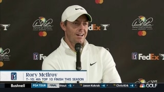 Rory McIlroy dejected after Arnold Palmer Invitational