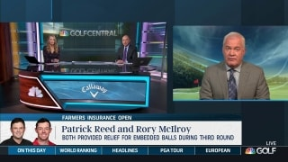 How will embedded ball controversy impact Reed, McIlroy?