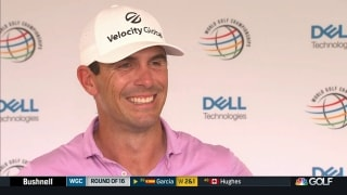 Why Horschel will keep same strategy in semifinals