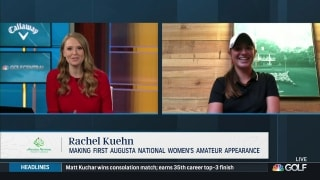 Rachel Kuehn 'excited' to make first ANWA appearance
