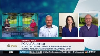 PGA of America to allow distance-measuring devices