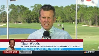 Todd Lewis provides latest on Tiger Woods after car accident